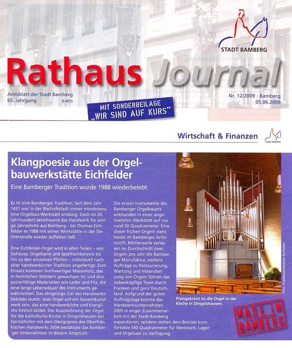 Bamberger Rathausjournal